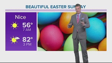 Picture perfect weekend for an Easter Egg hunt