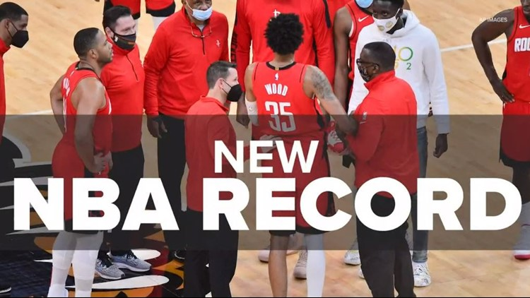 Strange but true: Rockets used 30 players in 2020-21 season, the most ever in a NBA season
