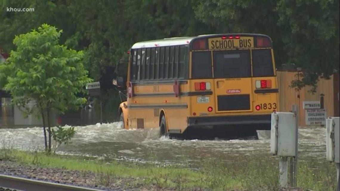 LIST: School closings, cancellations Thursday due flooding