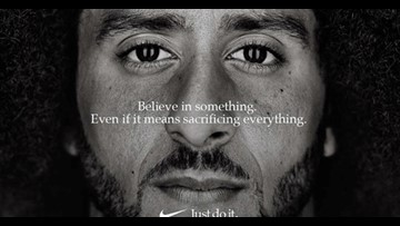 Colin Kaepernick's Nike ad wins an Emmy for outstanding commercial
