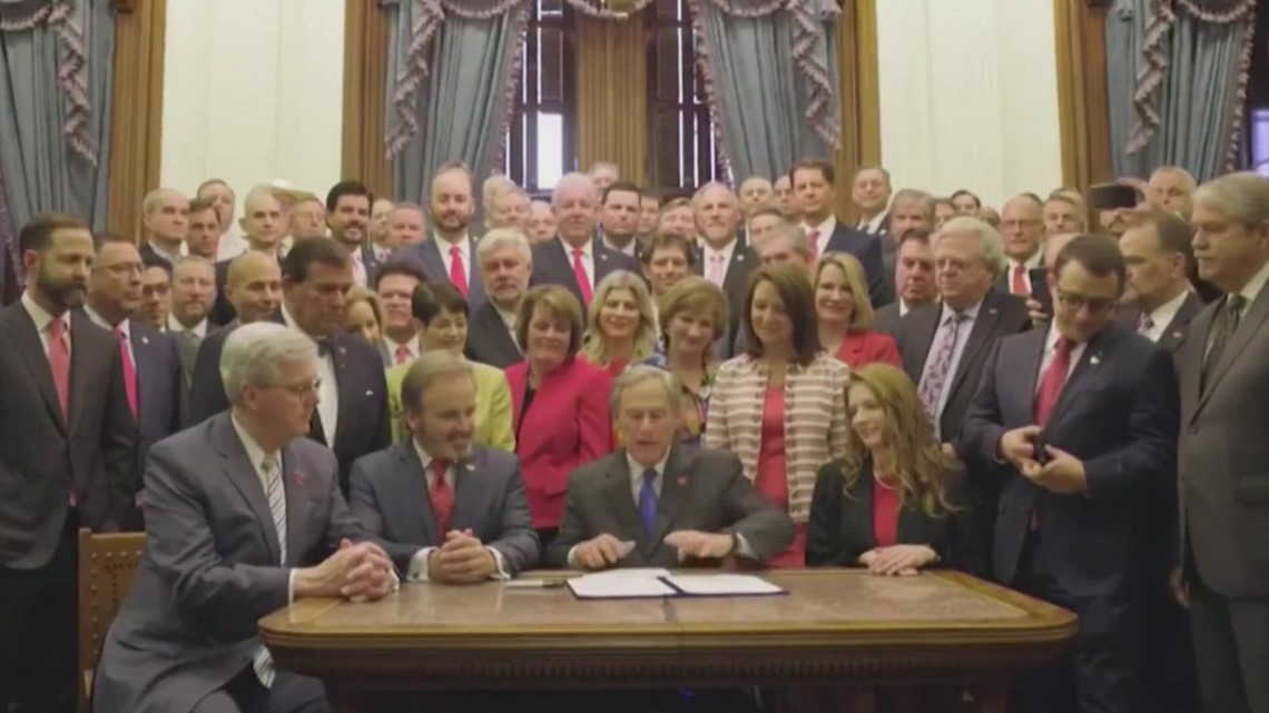 Texas Governor Greg Abbott signs more abortion restrictions into law