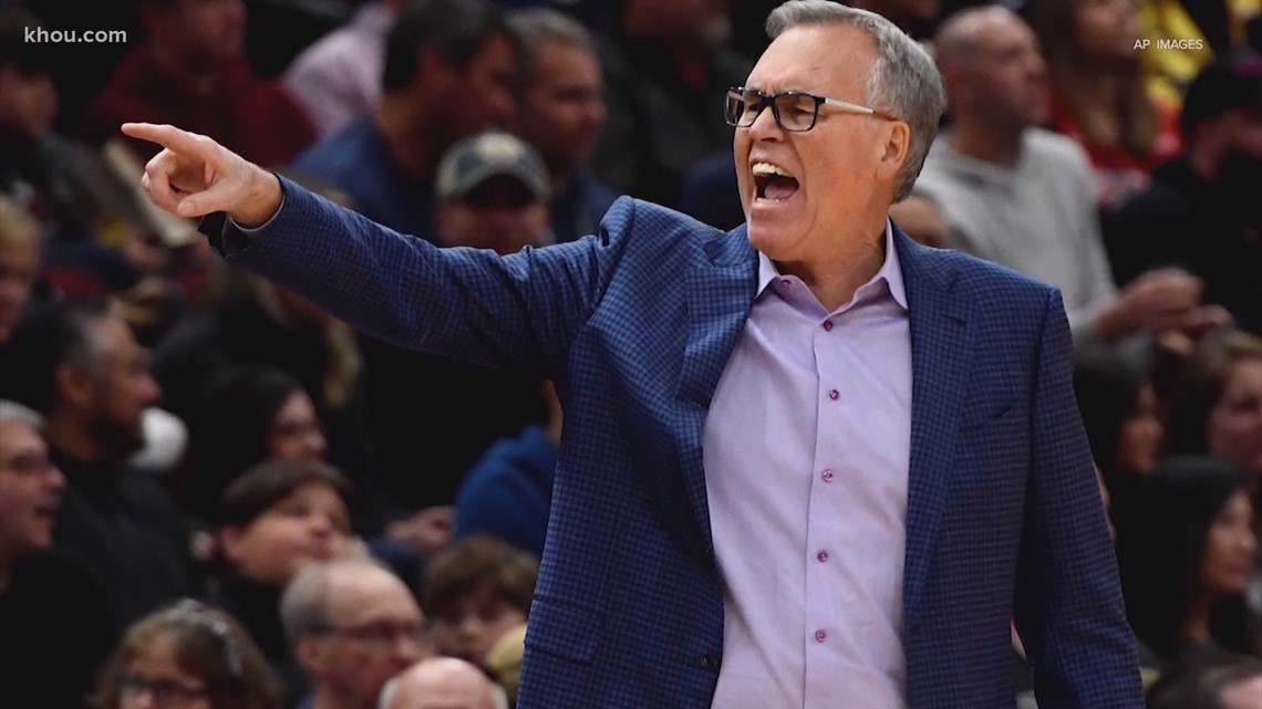 Mike D'Antoni says he will not return as Rockets head coach