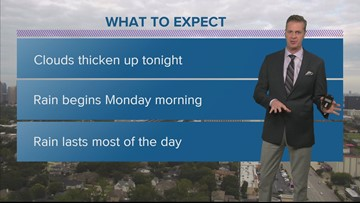 Houston weather radar forecast update 6 pm