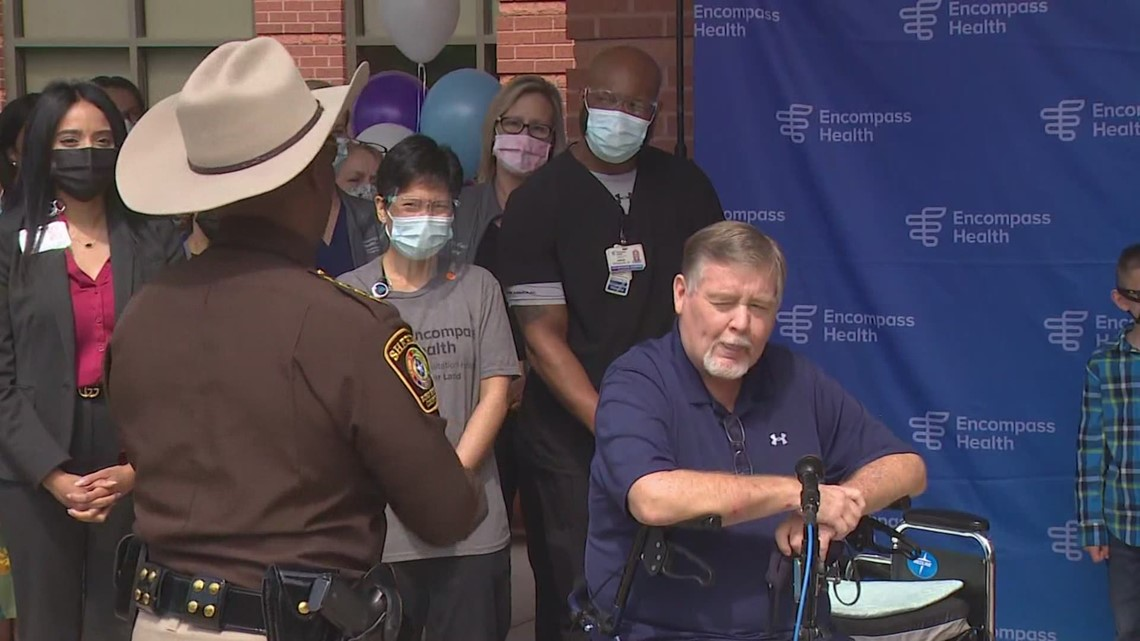 FBCSO detective who spent weeks in ICU urges others to get vaccinated