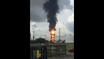 Baytown ExxonMobil fire extinguished
