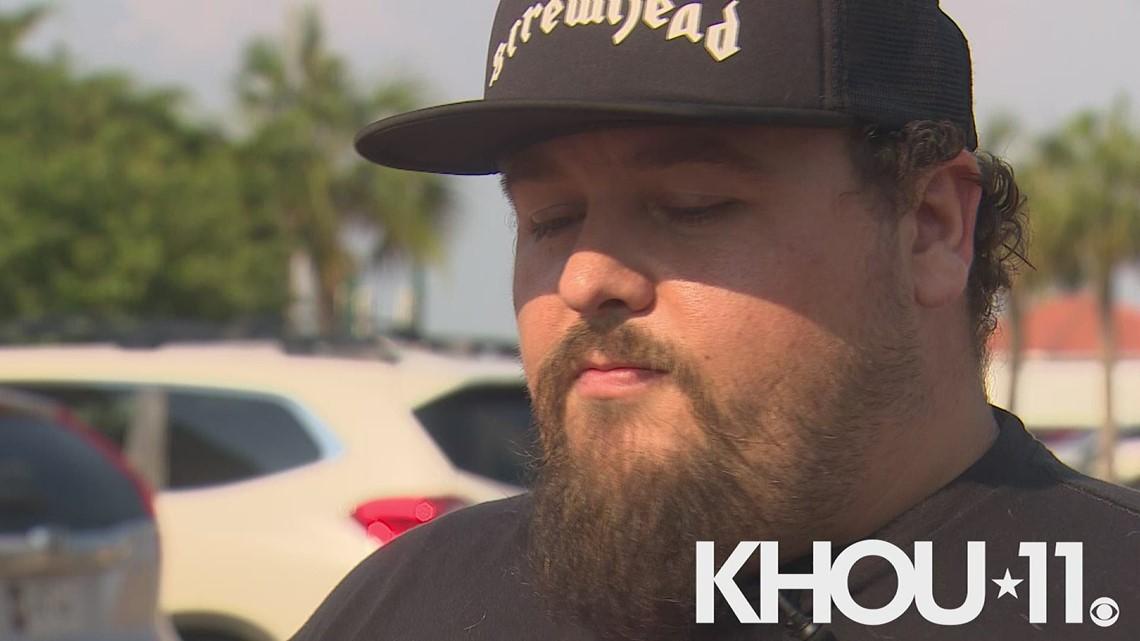 Man thanks KHOU for helping him get his dog back