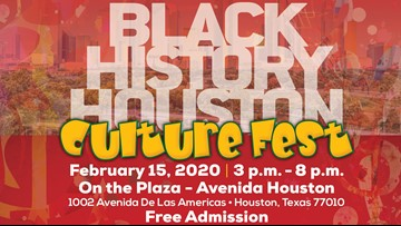 Come celebrate Houston's rich diversity at the 'Black History Houston Culture Fest' this weekend