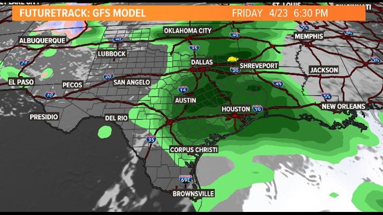 Houston forecast: Widespread rain and a slight risk of severe storms arrive Friday