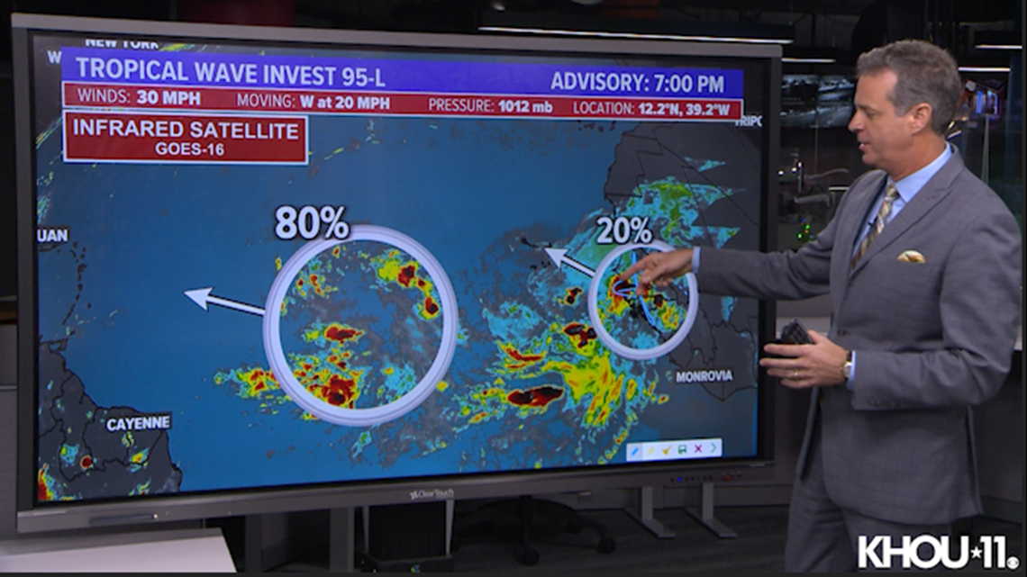 Tropical update: Updates on Invests 95L and 96L