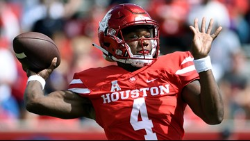 King's 3 TDs help Coogs beat Prairie View 37-17