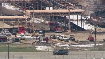 Fire reported at ITC during 'deconstruction of tank' at Deer Park plant