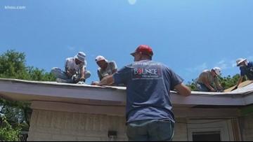 Teens spend summer break rebuilding homes damaged by Harvey