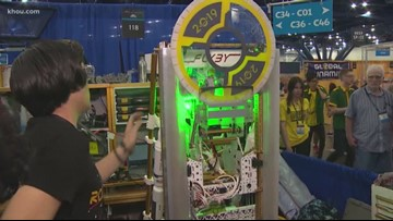 Clear Creek ISD team up with NASA for robotics competition