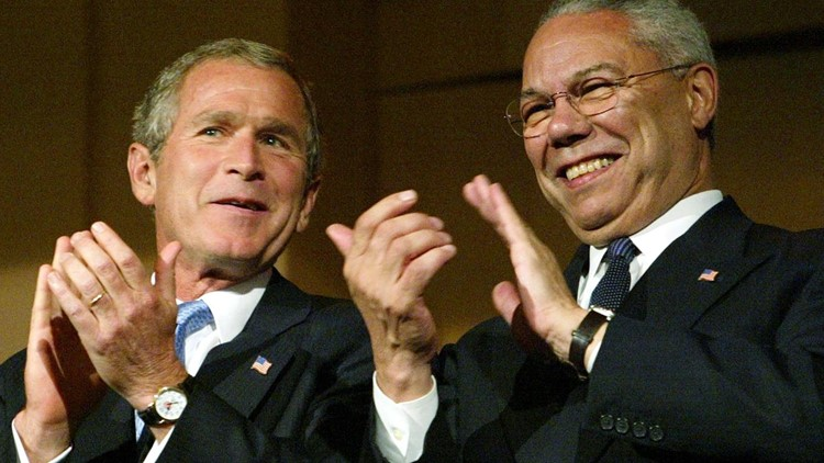 'A family man and a friend' |  Former President George W. Bush remembers Gen. Colin Powell