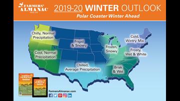Prepare for a 'polar coaster' winter! Texas outlook: 'chilled.'