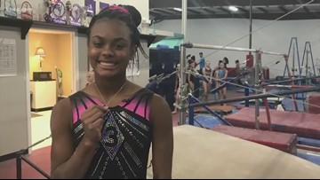 15-year-old gymnast is overcoming her latest hurdle after extensive back surgery