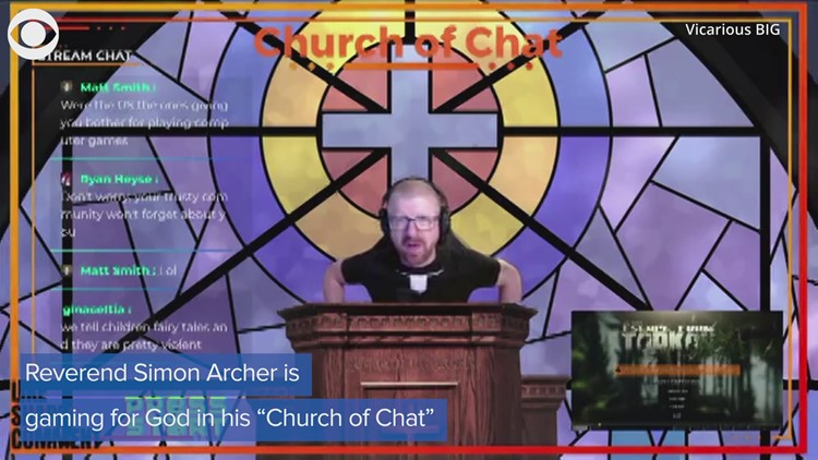 Preacher takes his services to an unusual place: online gaming