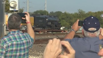'Big Boy' train in town for Thursday tours