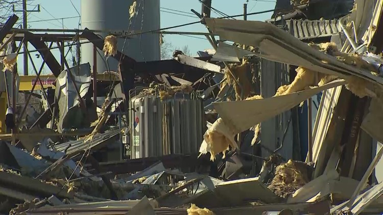 Video: A look inside the Watson Grinding facility following explosion