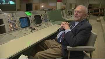 Flight commander Gene Kranz directed the mission that put man on the moon