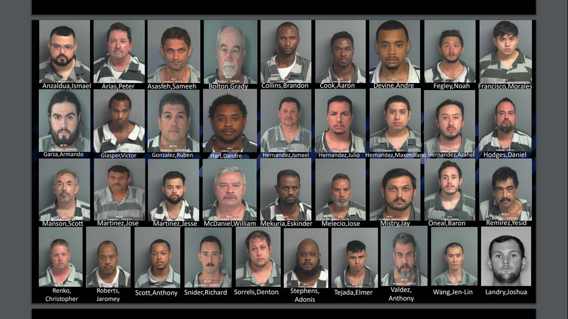 79 Arrested In Human Trafficking And Prostitution Sting In