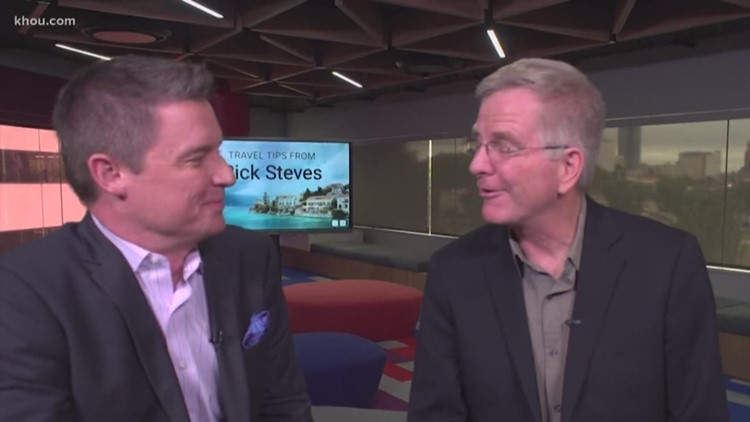 Rick Steves in town with Houston Symphony