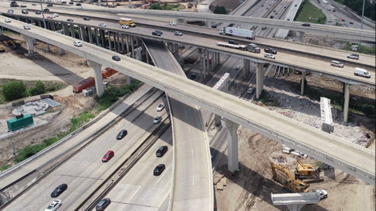 Traffic Alert: Southwest Freeway shut down at 610 West Loop this weekend for interchange project