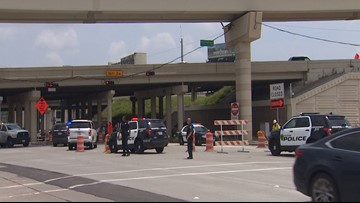 Houston police officer struck by SUV while directing traffic in Galleria area