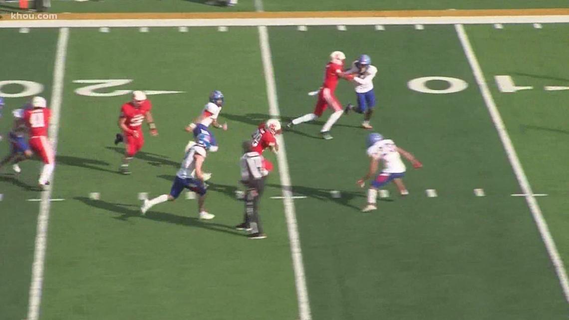 Texas high school football playoffs: Katy rolls, North Shore's win streak ends