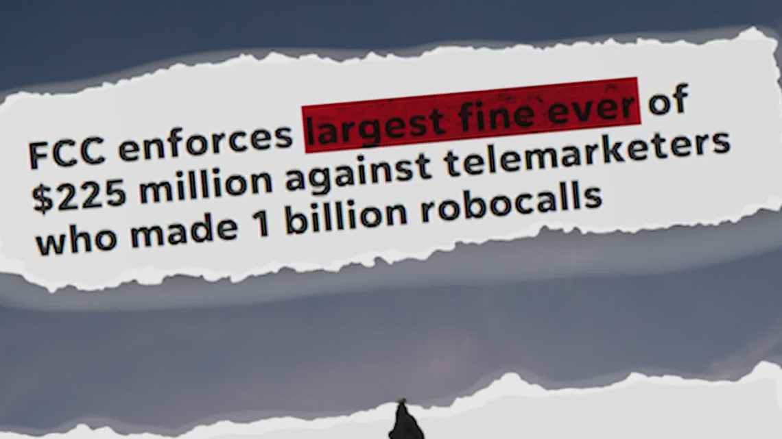 Big robocall fines come with a history of low collection rates