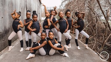 Beaumont ballerinas strike a pose for Black History Month