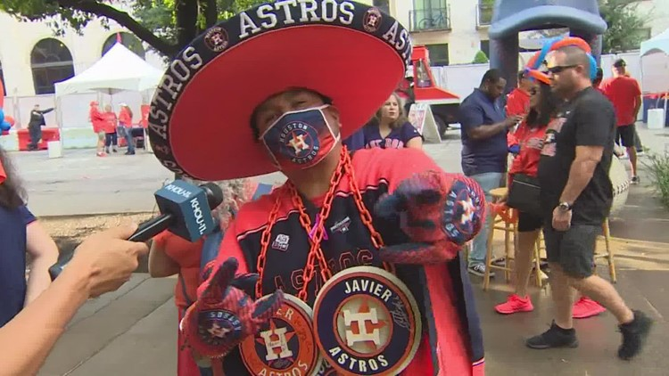 Fans share their Astros stories ahead of Game 1 of the ALCS