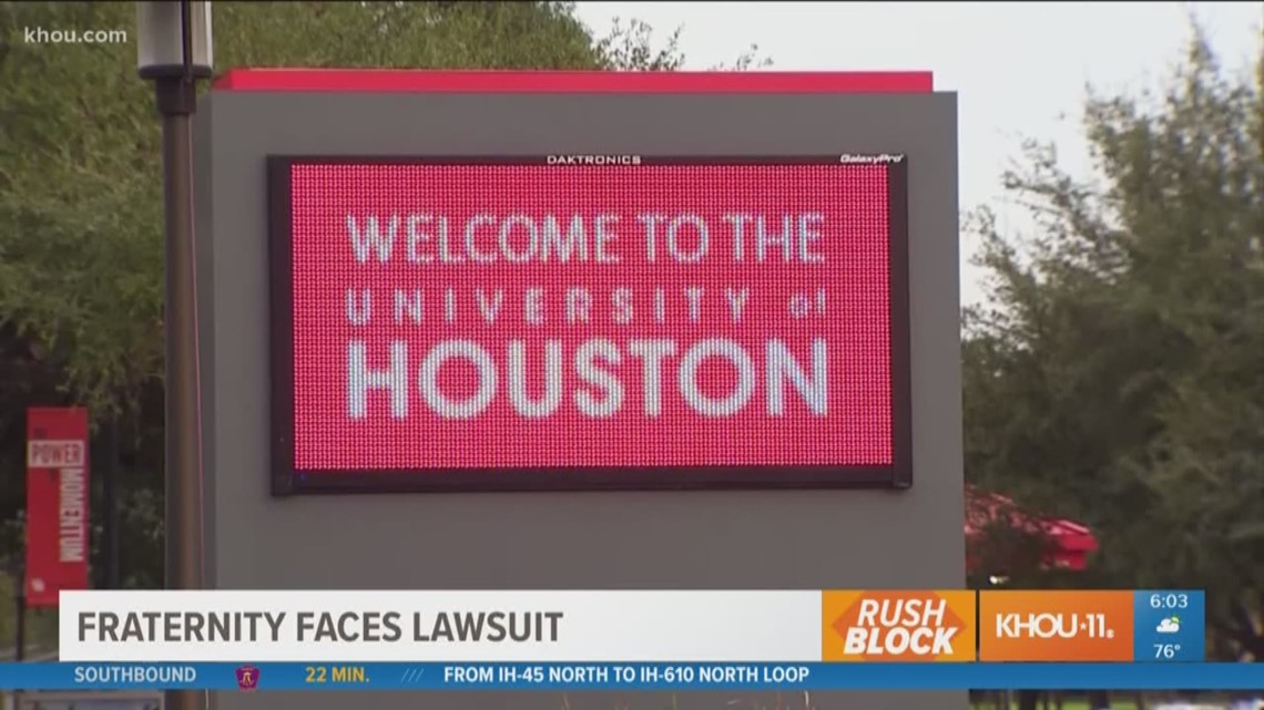 3cdad25f4a6 RUSH BLOCK  Former pledge files lawsuit against UH fraternity