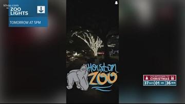 It's Zoo Lights season in Houston
