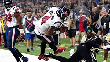 Houston falls 30-28 to New Orleans in Monday night thriller