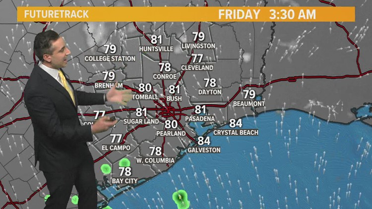 It's another hot and humid day, but some relief could be on the way