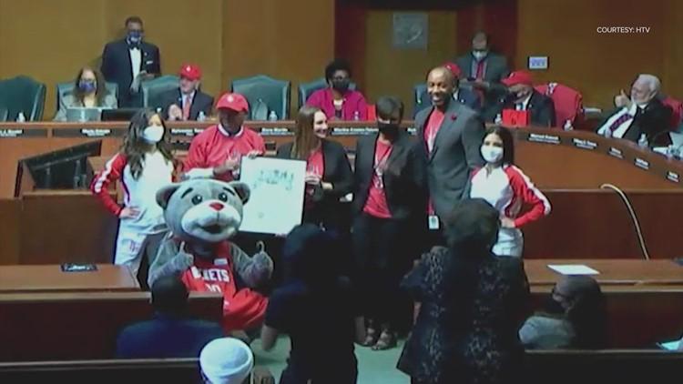 Mayor Turner declares Oct. 22 Houston Rockets Day
