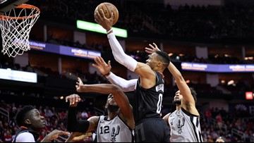 Rockets rally past Spurs for 109-107 victory in new franchise comeback record