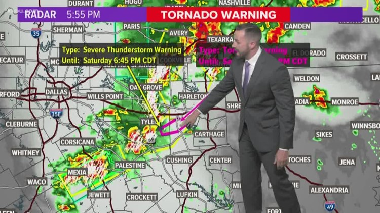 Houston forecast: Strong storms possible Saturday night