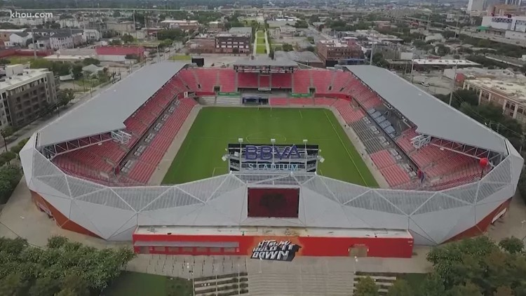 BBVA Stadium to allow fans on limited basis for Dynamo, Dash home games