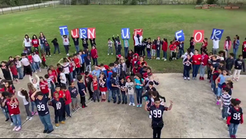 Katy ISD students get recognition from J.J. Watt on 99th day of school