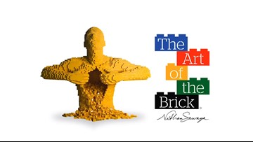 World's largest exhibit of LEGO art now open at Houston Museum of Natural Science