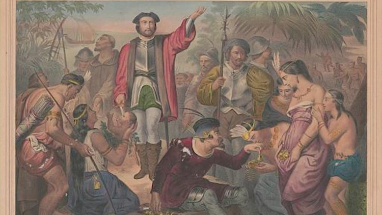 Christopher Columbus' complicated history