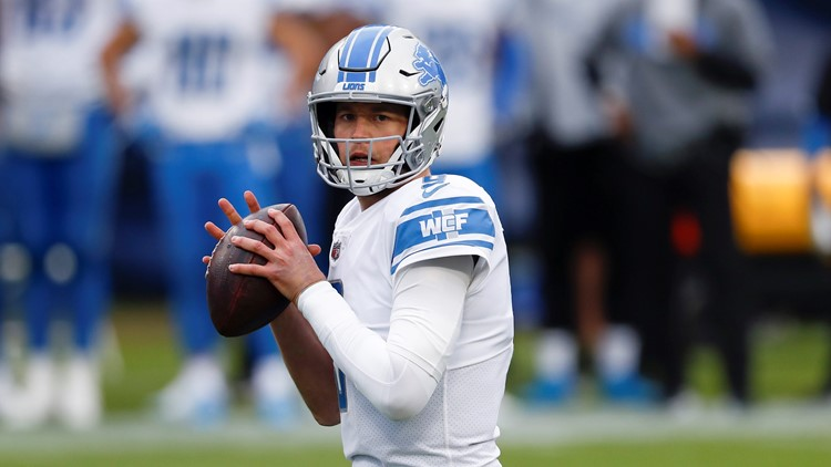 Lions trading Matthew Stafford to Rams for Jared Goff, source says