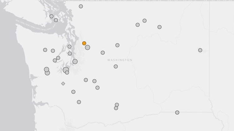 map of magnitude 4 or larger earthquakes