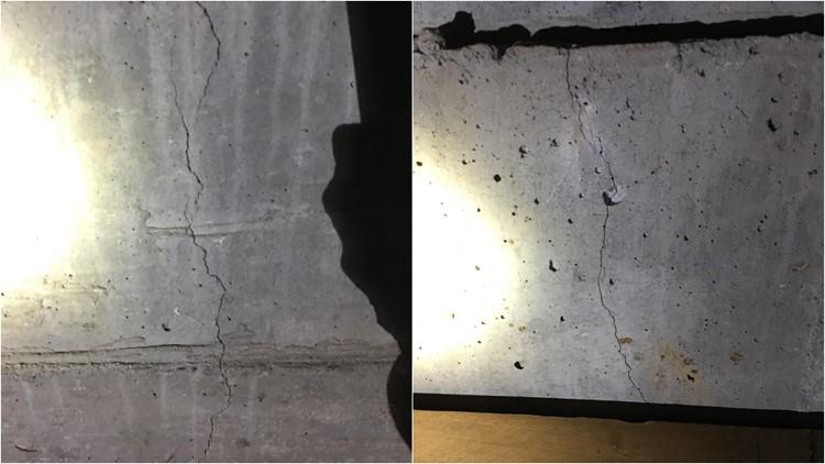 earthquake damage - cathcart