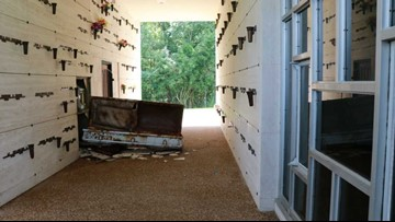 'Grave robbers' opened casket, damaged two tombs in Beaumont cemetery