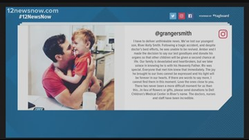 3-year-old son of country star Granger Smith dies after 'tragic accident' at their Texas home