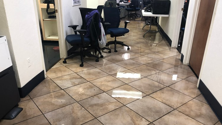 12News station flooding