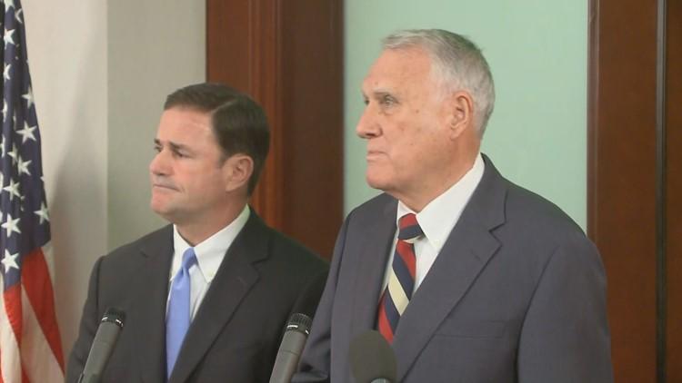 Gov. Doug Ducey announces Jon Kyl as McCain's replacement in U.S. Senate